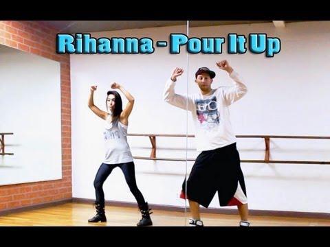 POUR IT UP - Rihanna Dance TUTORIAL | Choreography by Matt Steffanina & Dana Alexa