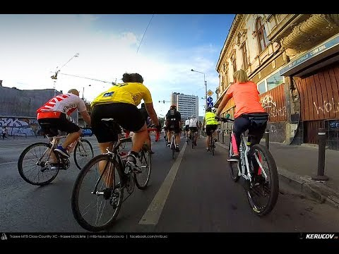 VIDEOCLIP Miercurea Bicicletei / tura 14 iunie 2017 [VIDEO]