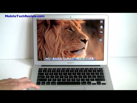 "Apple MacBook Air 13"" Mid-2011 Model Review"