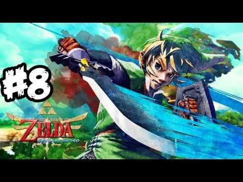 The Legend of Zelda: Skyward Sword Walkthrough Part 8 HD - Goron! - Let's Play (Wii Gameplay)