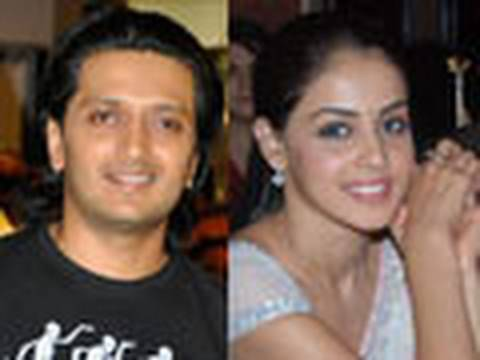 Ritesh and Genelia back together