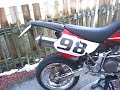 XR650R Supermoto .. just the bike by request :) ..  2nd Video XR650