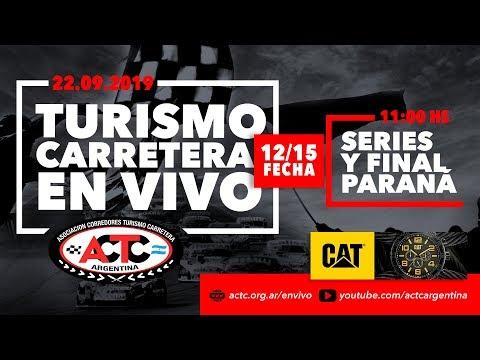 TC en Paraná: Mirá en vivo la despedida del Gurí Martínez por Elonce TV.