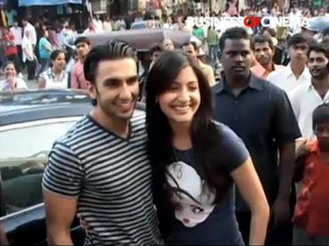 Music launch of Band Baaja Baaraat with Anushka Sharma & Ranveer Singh
