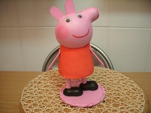 hacer cerdita pepa pig en goma eva fofucha   descargar mp3 gratis