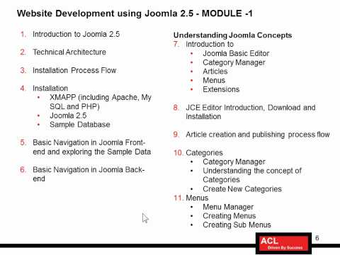 Website design using Joomla - End-To-End Course for Beginners-Part1