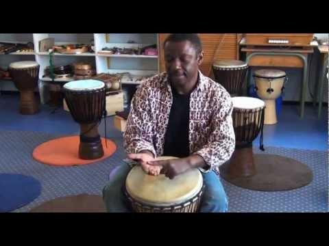 Cours de Djembe pour debutant - Le rythme Kedon du Cameroon