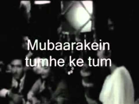 Ajeeb Dastaan Hai Yeh-Karaoke & Lyrics -Dil Apna Aur Preet Prayee