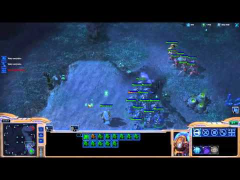 Minigun coaching Destiny on playing protoss [Game 4] - Starcraft 2