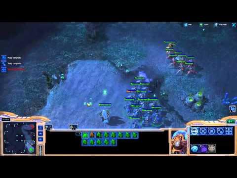 Minigun coaching Destiny on playing protoss [Game 4] - Starcraft 2