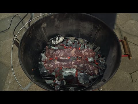 How to Cook Steak on Coals