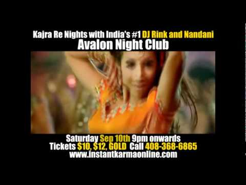 Kajra Re Nights Featuring India's # 1 Female DJ Rink and Bollywood Dancer Nandani