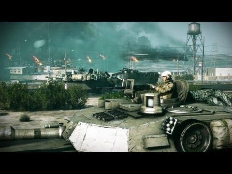 Battlefield 3 Launch Trailer (New Gameplay Video)