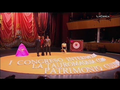 Gala completa de inauguración del I Congreso Internacional de Tauromaquia