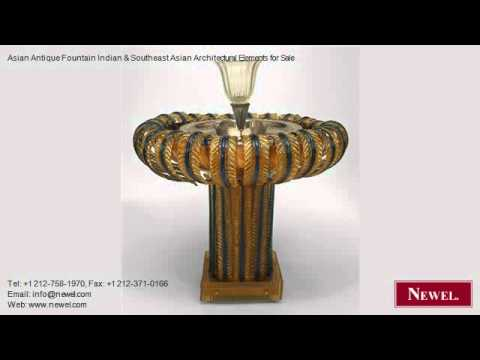 Asian Antique Fountain Indian & Southeast Asian Architectura