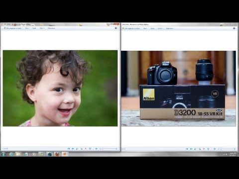 Nikon D3200 Unboxing.
