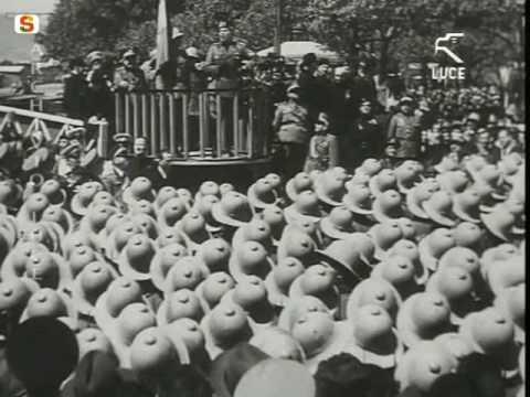 Benito mussolini Duce d'Italia in visita in Sardegna - Cagliari 12-05-1935 istituto luce