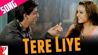 Tere Liye - Song   Veer-Zaara   Shah Rukh Khan   Preity Zinta