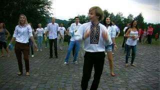 Флеш-моб в Житомире на День Конституции Украины