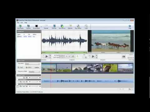 VideoPad Video Editing Software Tutorial (v2.12)