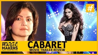 Pooja Bhatt Live on Magic Makers for Cabaret Movie 2016  Trailer Review