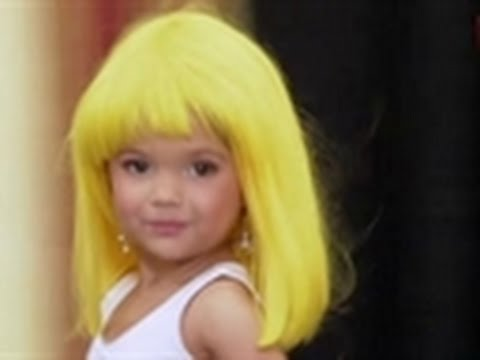 Toddlers & Tiaras - Toddler Dressed as Pretty Woman