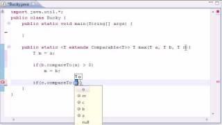 Intermediate Java Tutorial - 19 - Generic Return Types