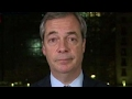 Nigel Farage: The European Parliament is terrified of Trump