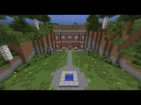 "Minecraft - Zombie protected house inspired by ""I am Legend"""