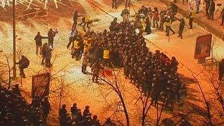 Второй штурм Евромайдана: протестующие не сдаются