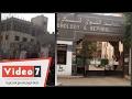 بالفيديو..الباعة الجائلين والخرفان أمام مستشفيات المطرية