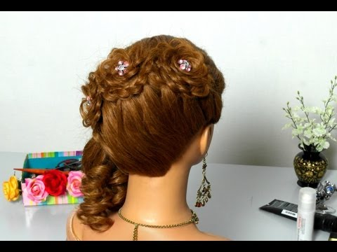 Плетем косы цветок