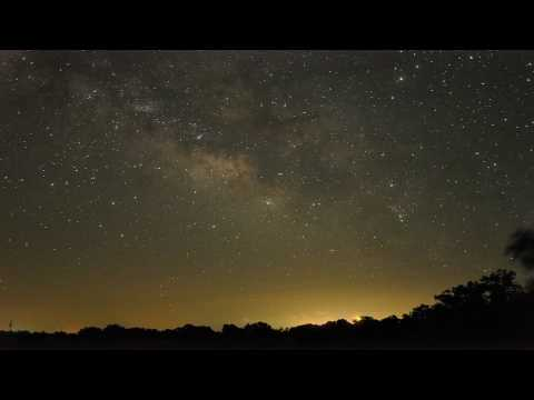 Texas Milky Way Time Lapse (Nikon D90)