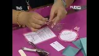 Cómo hacer una Bolsita e Invitación de Papel (METVC)