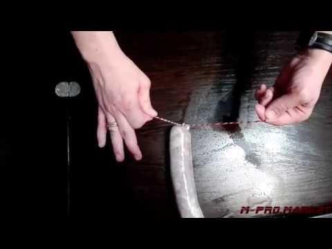 вязать колбасные узлы