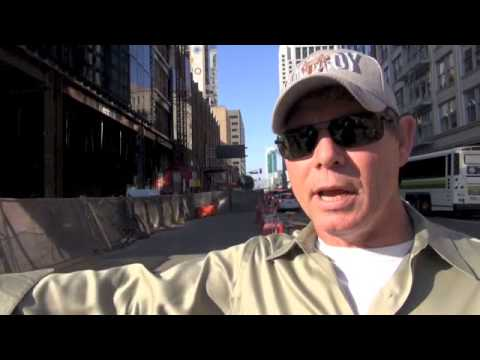 Ironworkers Speakout On Wildcat Strike At SF 222 2nd Street Project In San Francisco