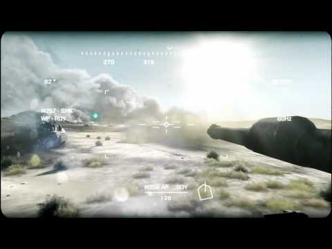 Battlefield 3 Thunder Run Tank Gameplay Trailer (E3) -QGPNmGLFFcE