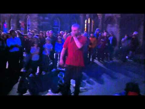 Dubstep beatboxer Dave Crowe at Ed Fringe
