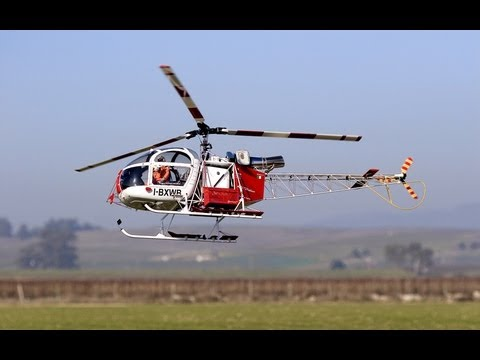 RC Helicopter Vario Lama Jet 1/4 scale