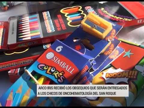 Fundación Arco Iris recibió donaciones de juguetes para el Día del Niño