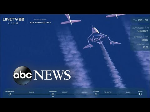 ''Virgin Galactic''-ын сансрын нислэг амжилттай боллоо