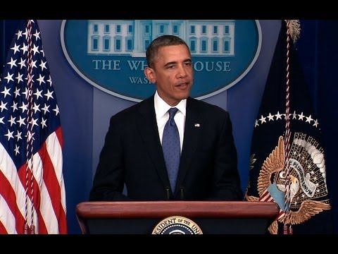 President Obama Makes a Statement on Averting Tax Hikes for Middle Class Families