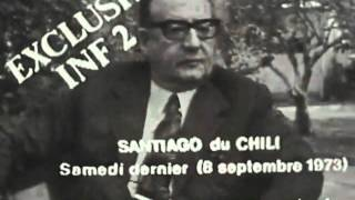 Ultima entrevista a Salvador Allende, 1973