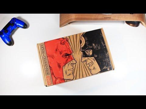 Unboxing Daredevil Marvel Subscription Box - UCRg2tBkpKYDxOKtX3GvLZcQ