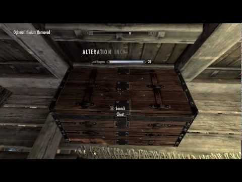 Skyrim - Infinite Levels Glitch