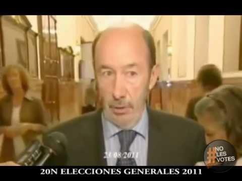 Â¿PSOE o PP? - Las mentiras mas famosas del 2011 - Difunde este video