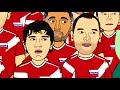 Фрагмент с начала видео Россия - Хорватия 2:2 (Мультбол)