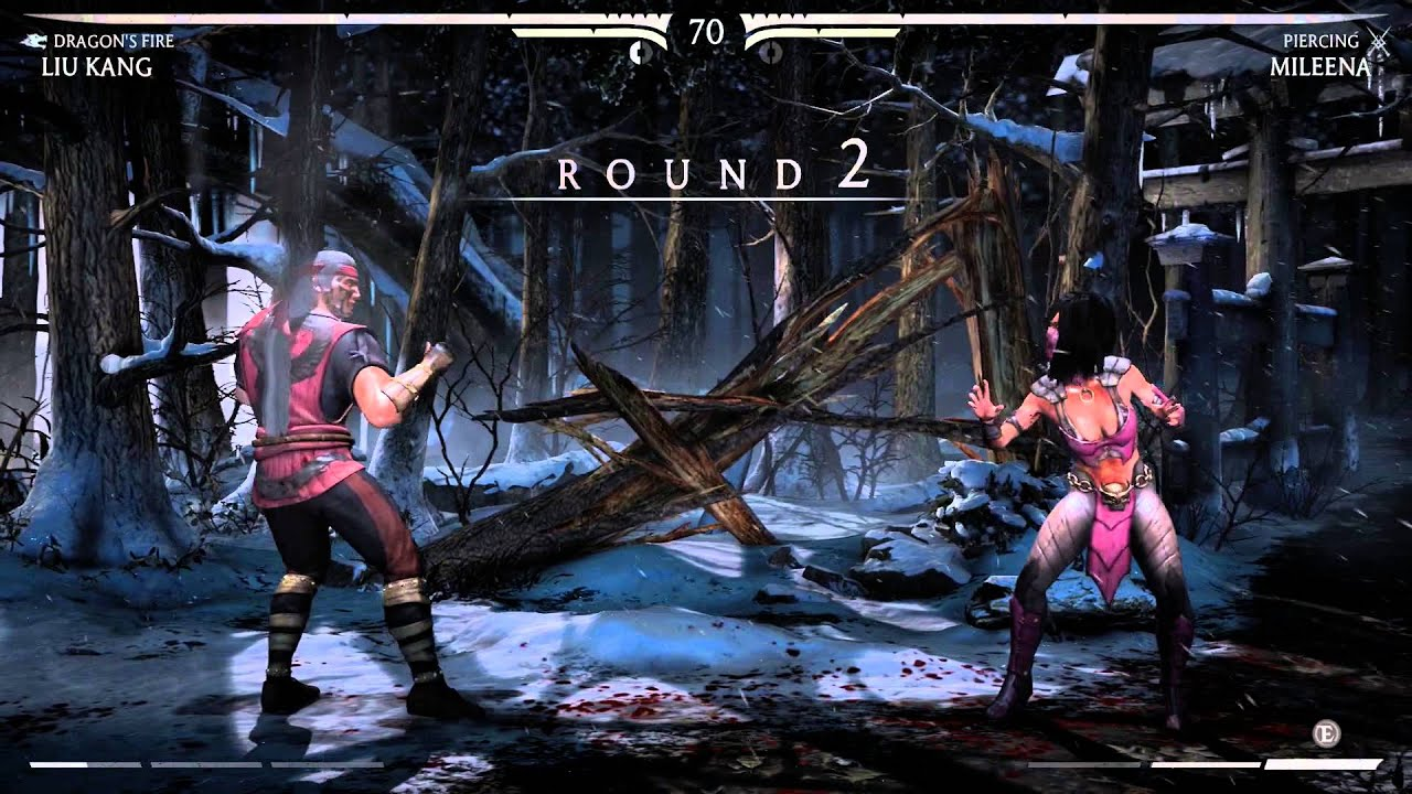Mortal Kombat X 2 minute clinic of punishment