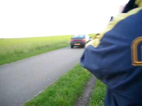 Mazda burnout filmpje