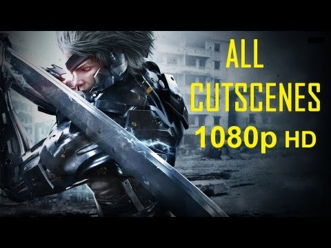 Metal Gear Rising Revengeance - All Cutscenes 1080p movie HD Every cutscene in order Metal Gear Rising Revengeance -QLL3MVki46U